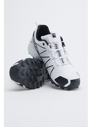 Tonny Black Beyaz Siyah Unısex Trekkıng Ayakkabı Tb160 Beyaz